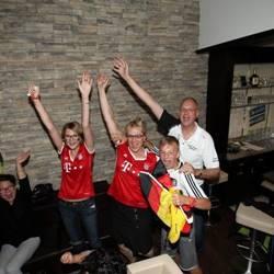 EM Spiel mit Deutschland