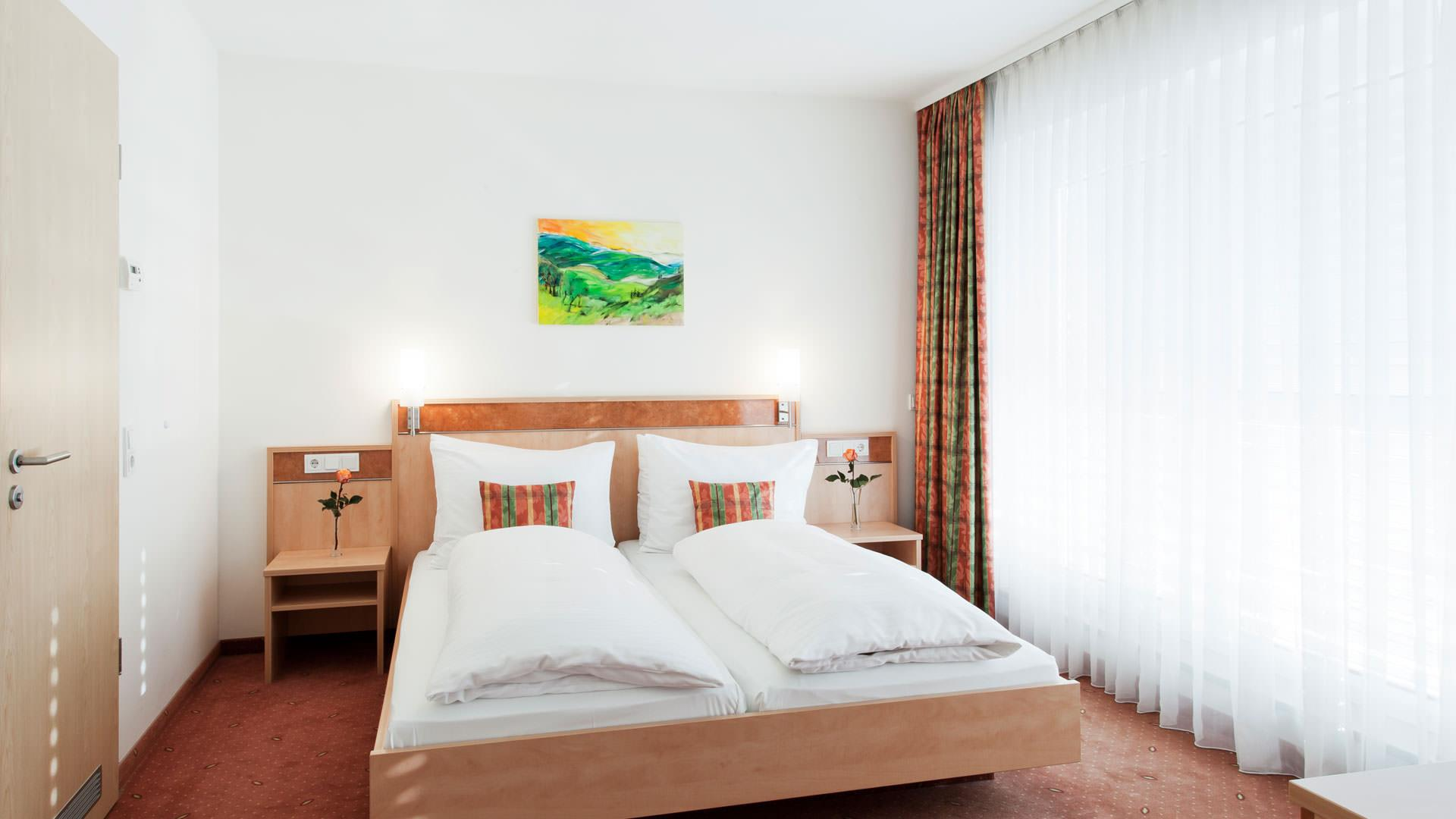 Hotelsuite mit Doppelbett